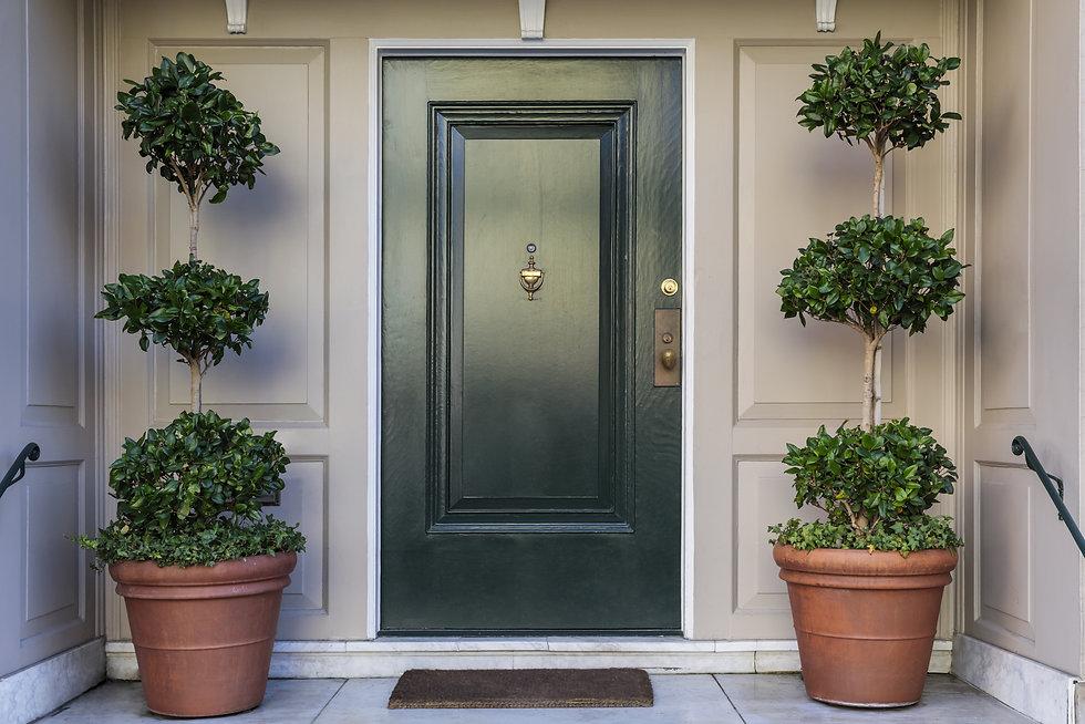 Front door, black front door.jpg