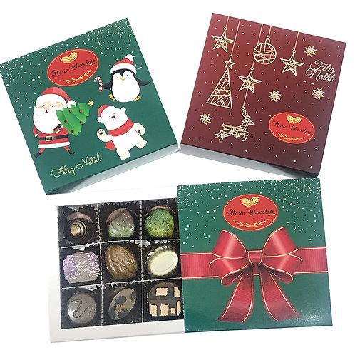 Caixa de Bomboms - Especial Natal