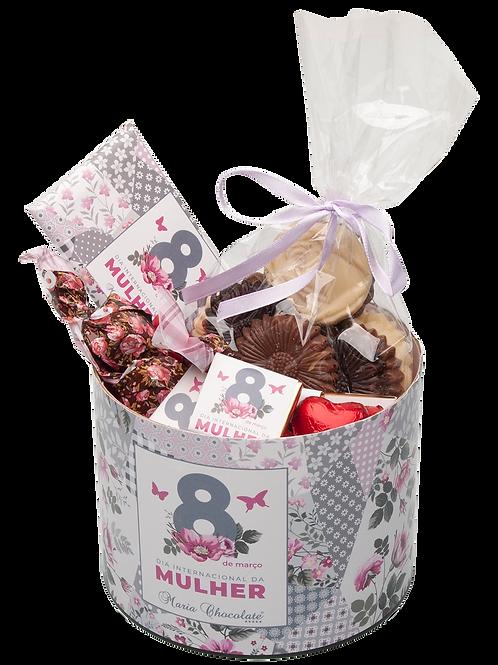 Lata Sweet Box - Especial Dia da Mulher