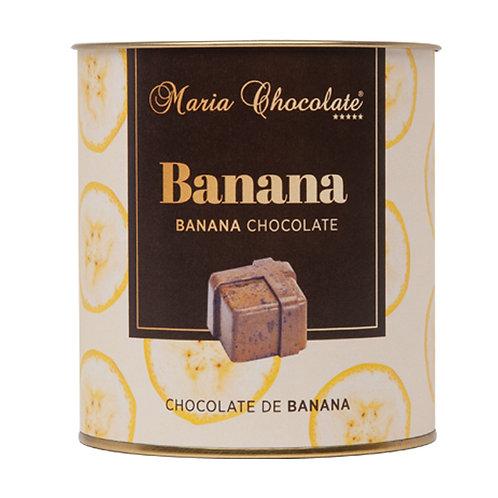Lata Bombons Coleção Sabores Regionais · Banana