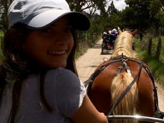 El desarrollo de habilidades en contacto con la naturaleza, los caballos  y la aventura en Valle Ver