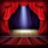 scene-theatre-salle-concert-rideaux-roug