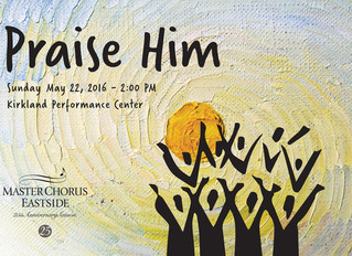 Master Chorus Eastside Announces Praise Him! Concert