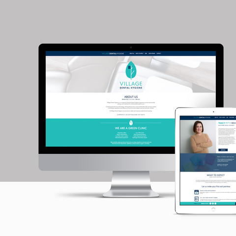 Website Design for Village Dental Hygiene