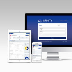 Brand Identity for Infinity Software, Constellation Financing Systems