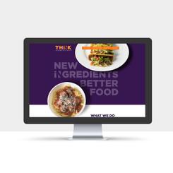 Brand Identity + Website - THiNK Ingredients