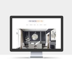 Brand Identity + Website Design - Fraser Decor