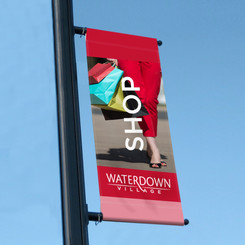 Waterdown Village Street Banners - Waterdown BIA