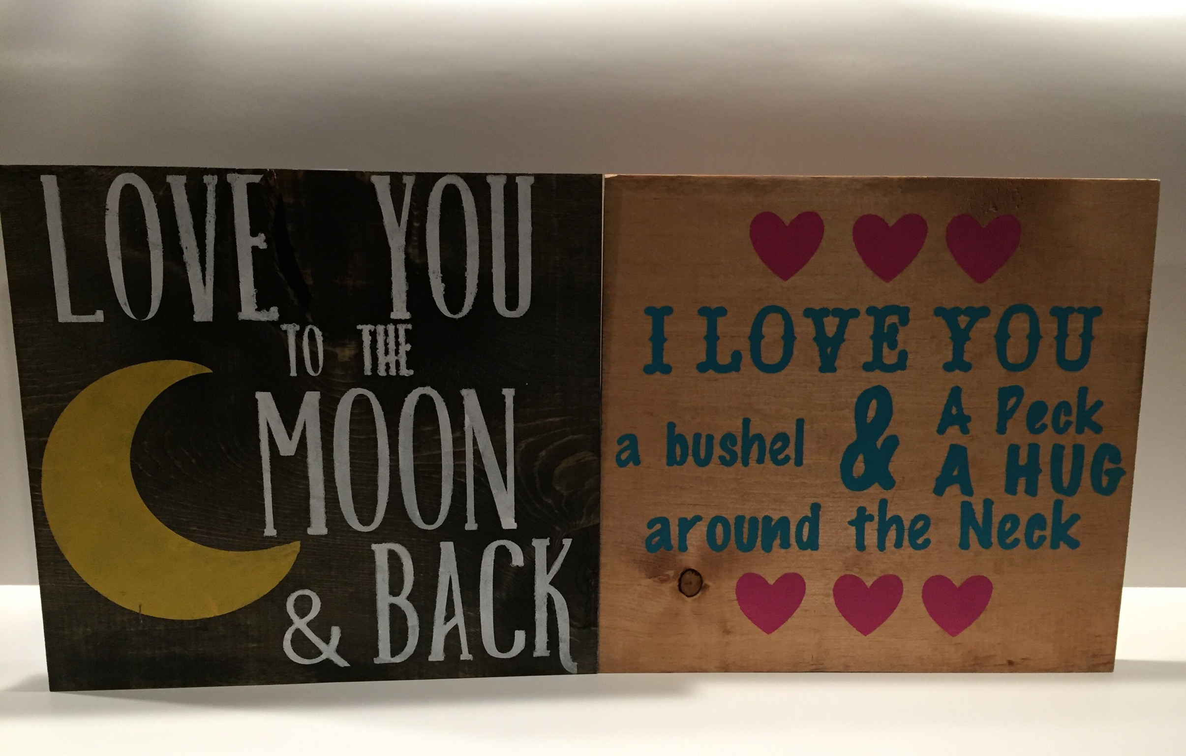 Moon and Back / Bushel and Peck
