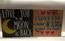 Moon and Back / Bushel and Peck