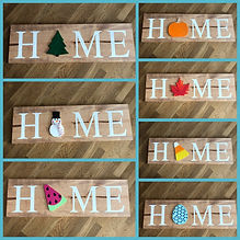 HOME Switch Plate Sign (11.25in x 36in)
