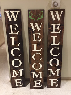 Welcome with Antlers