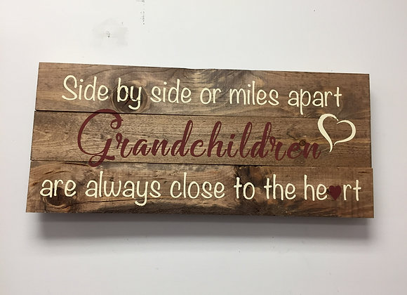 Grandchildren close to heart