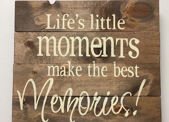 Little Moments / Memories