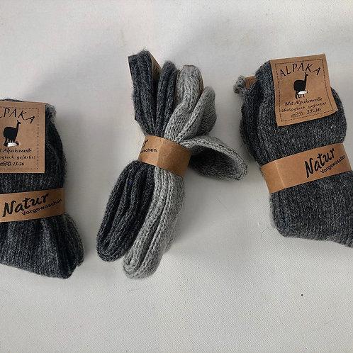 alpaka uld sokker str 31/34