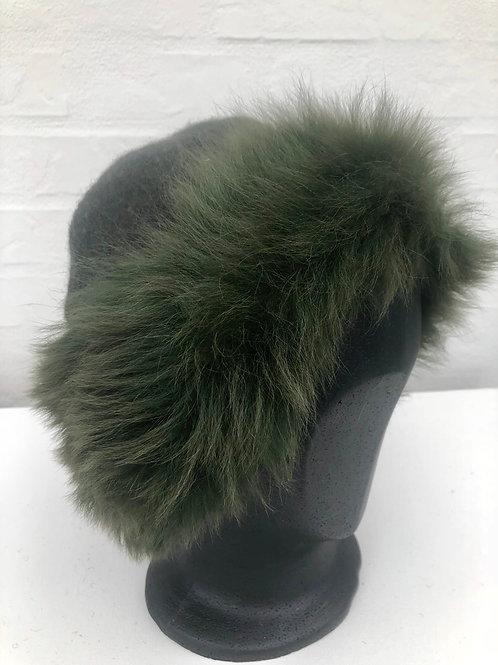 Grøn hat med toscanalam