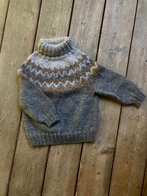 18 mdr uld sweater grå