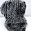 Thumbnail: Huetørklæde gråmix