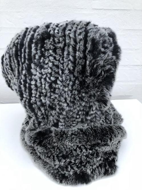 Huetørklæde gråmix