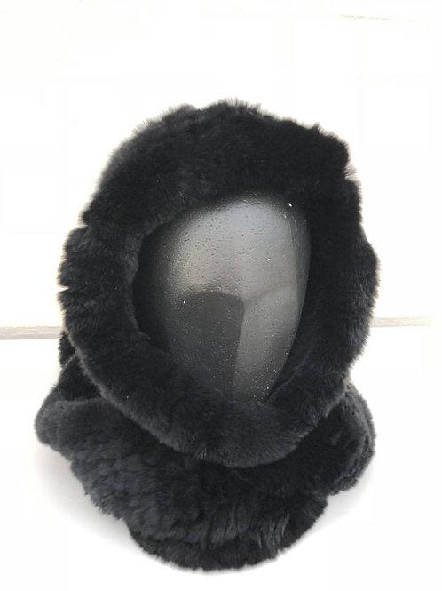 Huetørklæde sort