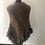 Thumbnail: Unika poncho handmade udsalg