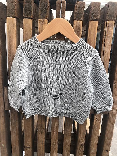 Str 1 år - bamse sweater