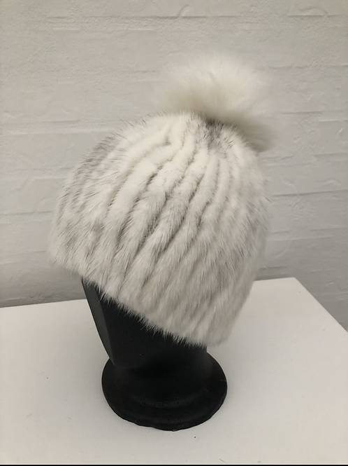 Minkhue hvid