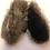 Thumbnail: Unika luffer uld/vaskebjørn
