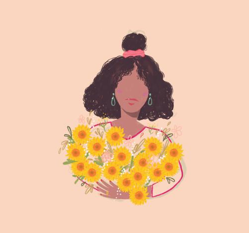 Bloemenmeisje zonnebloem.JPG