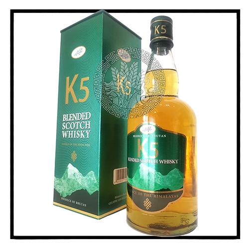 K5 Bhutan Premium Whisky