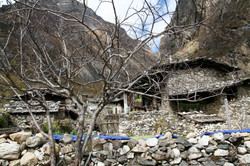 Bhutan Rustic Mountain Village