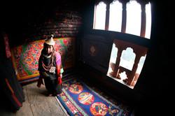 Rural Bhutanese Girl