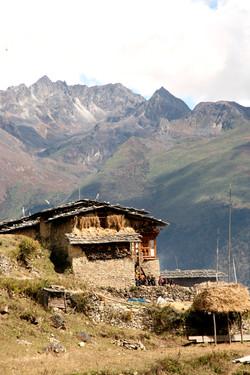 Bhutan Natural Rustic Homes