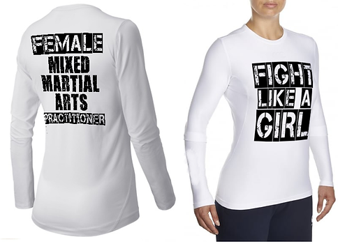 MMA Rashguard female compressionwear