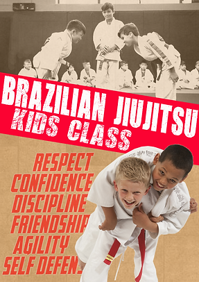 Kids BJJ Class Singapore