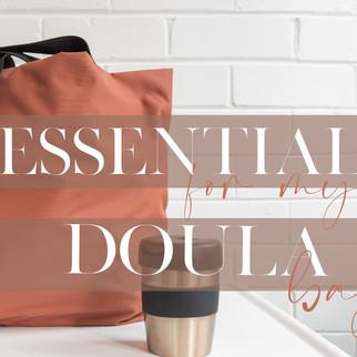 Top Ten Doula Bag Essentials