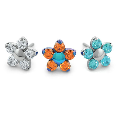 Titanium Flower Tops
