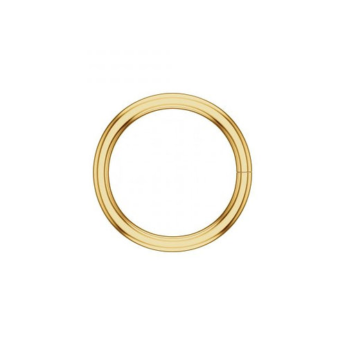 14k YELLOW gold continuous