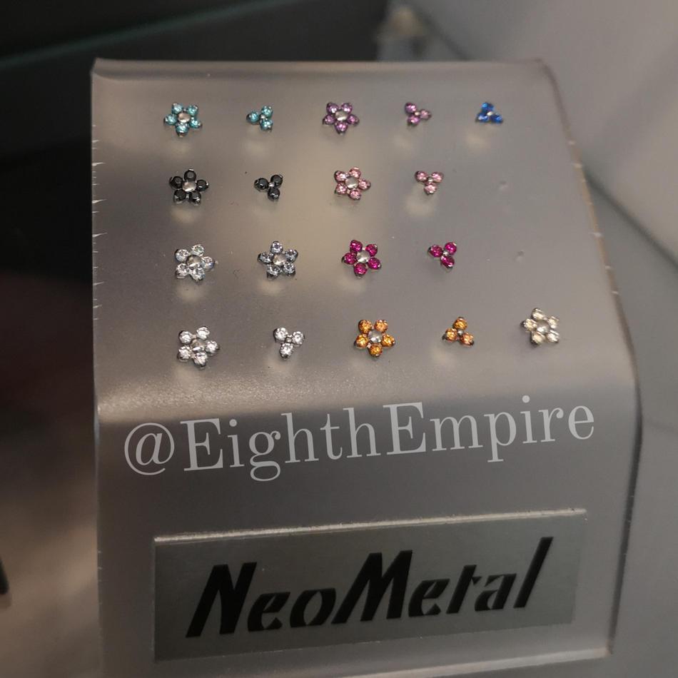 NeoMetal Flower & Trinity Tops
