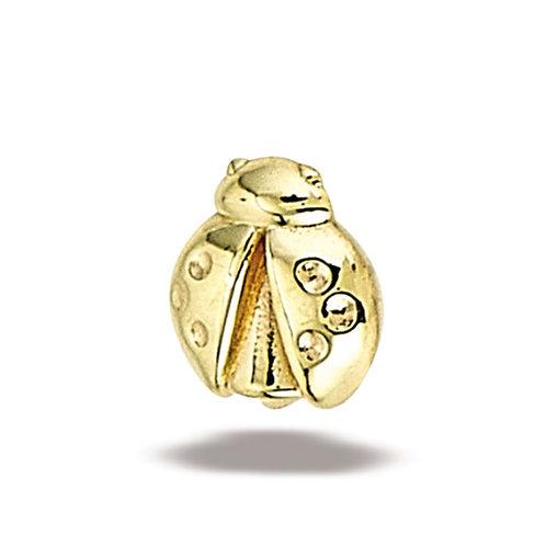14K Gold Lady Bug