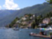 Village de Casiano en Suisse