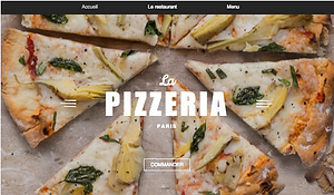 Site internet Pizzeria
