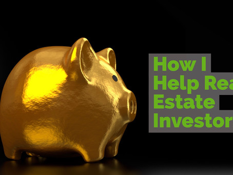 How I Help Real Estate Investors In Kansas City