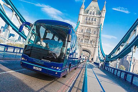 MAN Coach Tower Bridge shoot