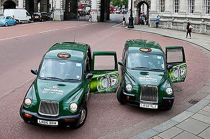 Heineken Taxi shoot The Mall
