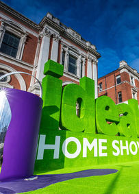 Ideal Home Show Entrance
