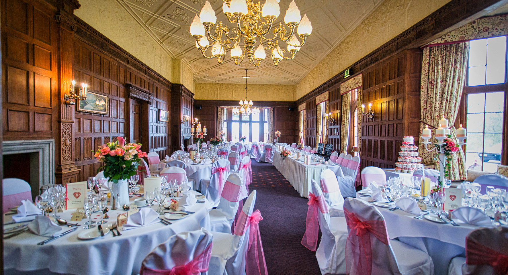 grand hall table placement