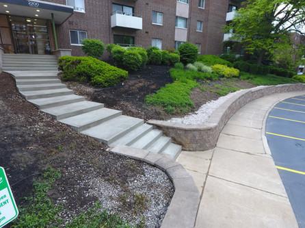 Apartment Community Steps
