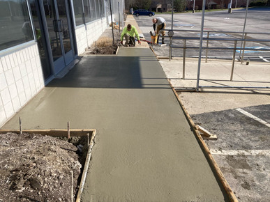 Frost Slab & Walkway Replacement