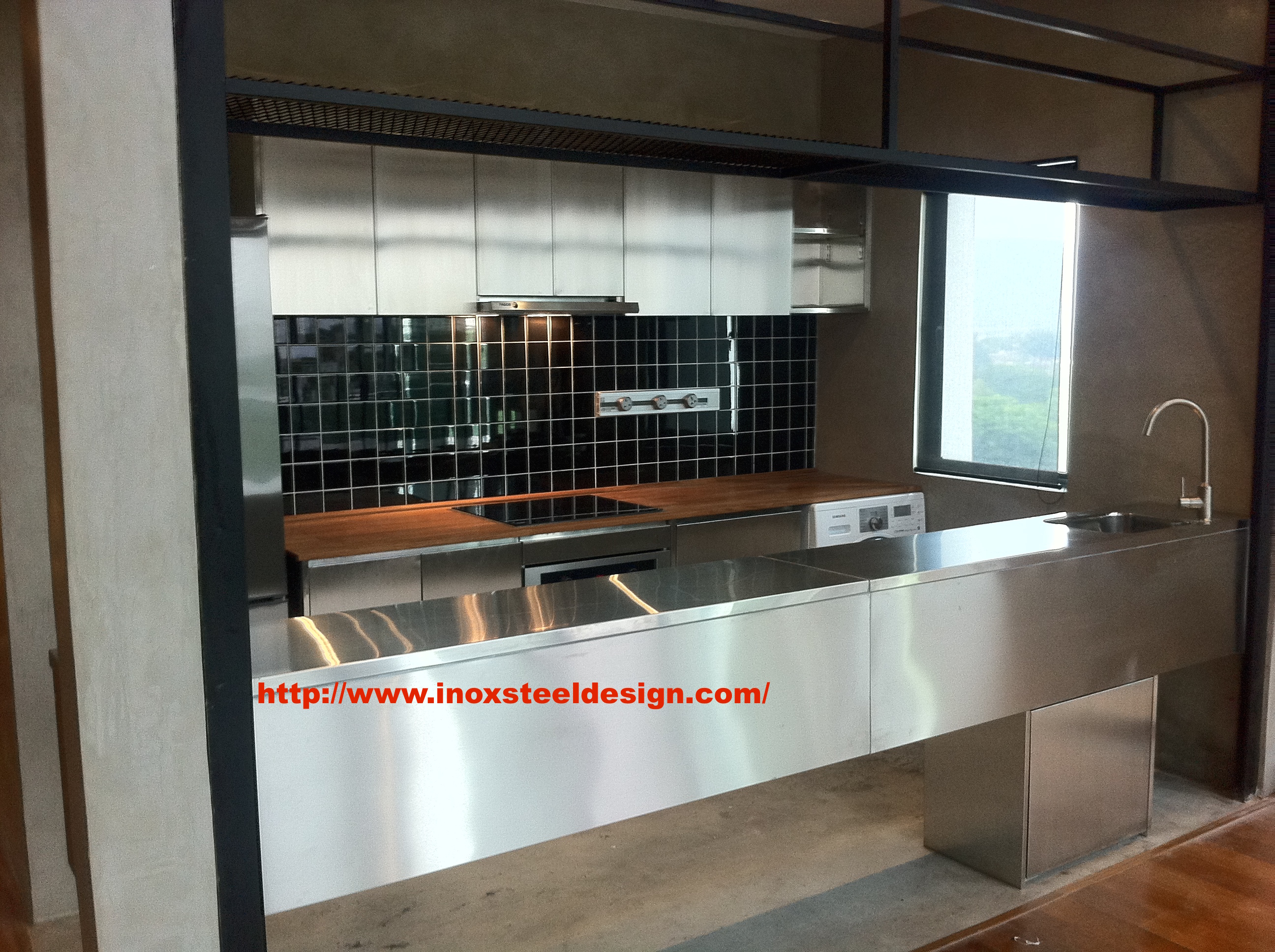 Stainless steel kitchen malaysia | Puchong | Inox Steel Sdn Bhd